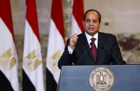 Egyptian president Sisi speaks